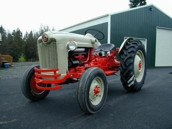 Ford Jubilee Naa Series Ford Tractors Vintage Tractors Tractors