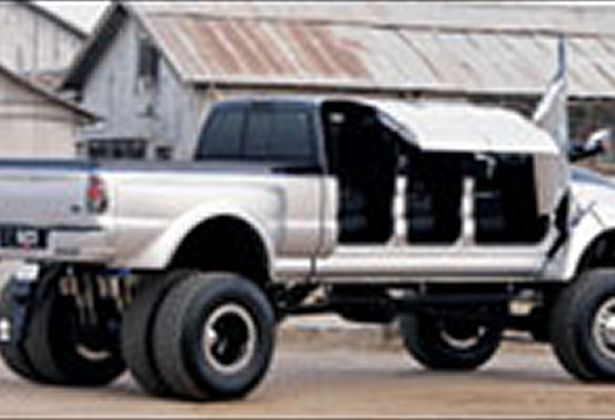Vehicles For Ford F650 Super Truck 6 Door On The Road Ford