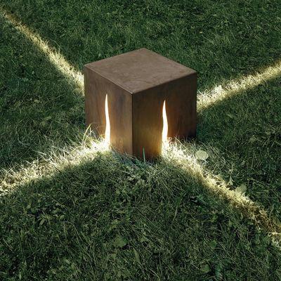 Lampe de sol Granito H 30 cm - Pour l\'extérieur H 30 cm - Couleur ...