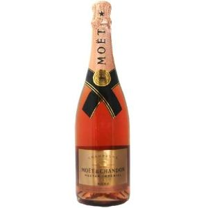 Moet & Chandon Nectar Imperial Rose... sweet with hints of rose, cherry, ginger and honey
