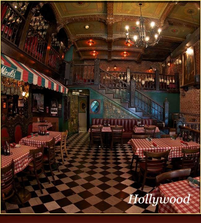 Miceli S Restaurants Hollywood And Universal City L A Oldest Italian Restaurant