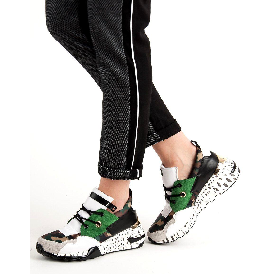 Modne Sneakersy VICES czarne | Sneakers, Buty i Buty damskie
