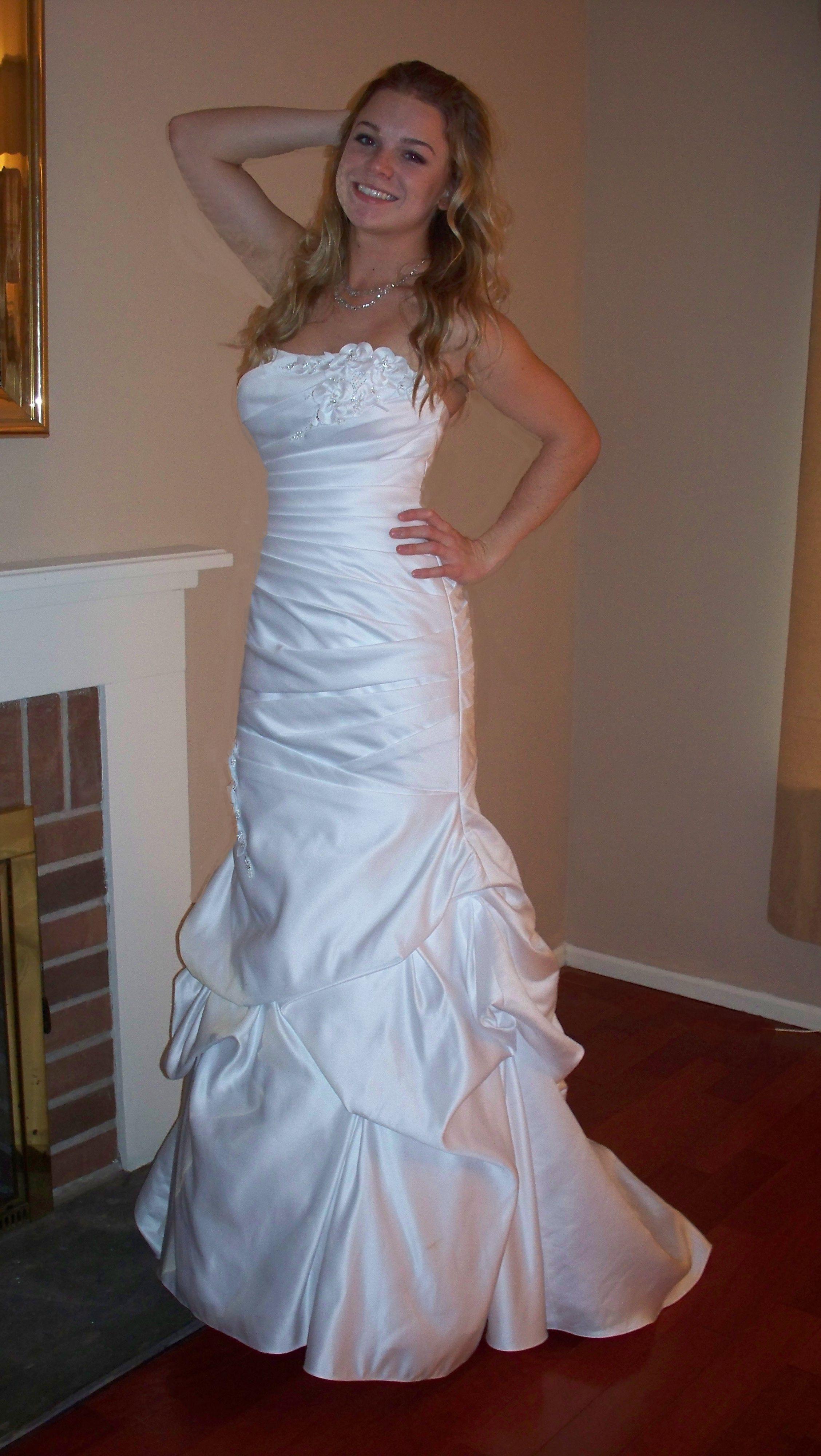 Recycled Wedding Dresses | Mori Lee Wedding Dress Mori Lee Wedding Dress On Tradesy Weddings