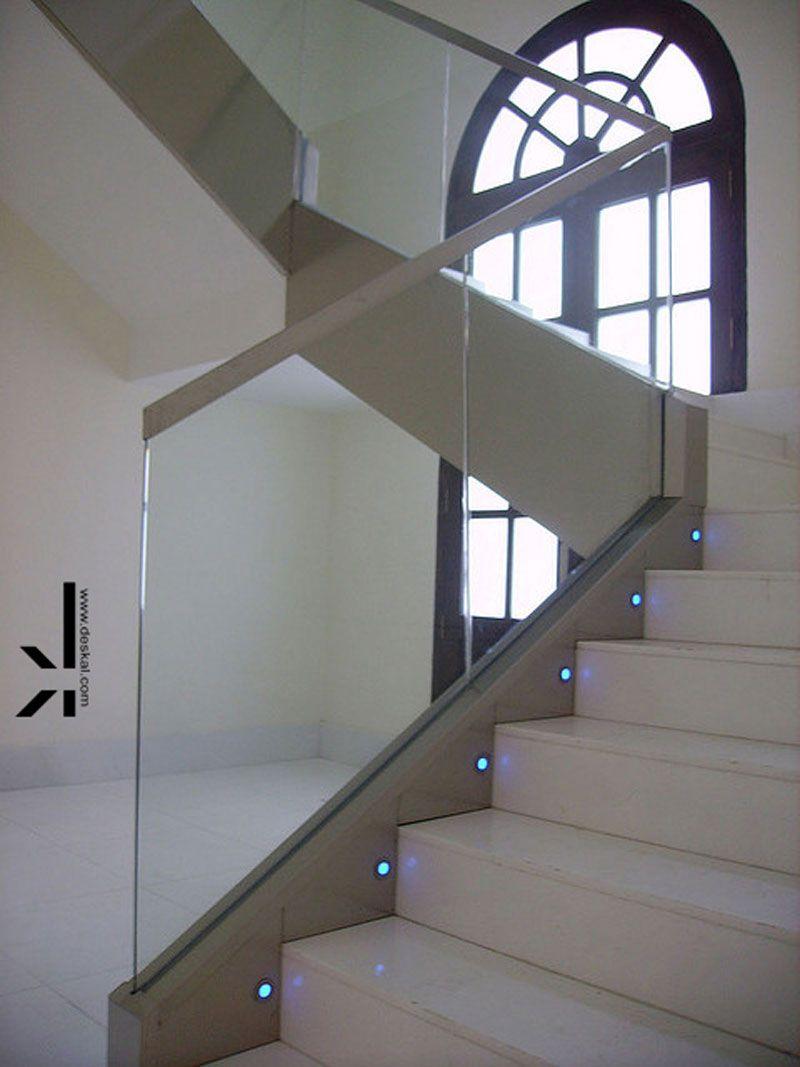 Barandillas escalera cristal buscar con google - Escaleras y barandillas ...