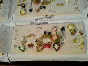Nice idea for dinner with friends. eating designer Marije Vogelzang