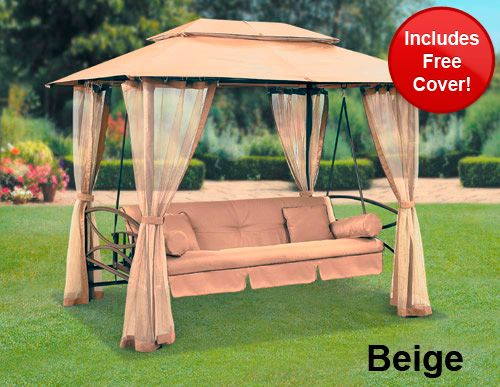 Patio Gazebos | Suntime Luxor Swing Gazebo with Free Cover - review compare prices . & Patio Gazebos | Suntime Luxor Swing Gazebo with Free Cover ...
