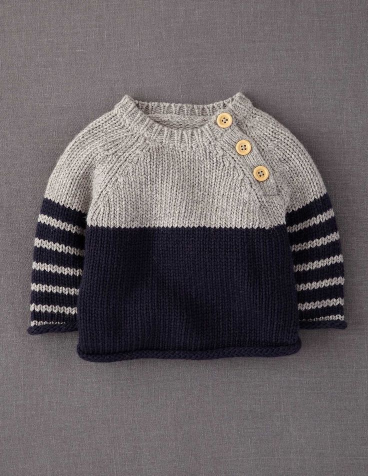 Kinder Winter Pullover #babypullover