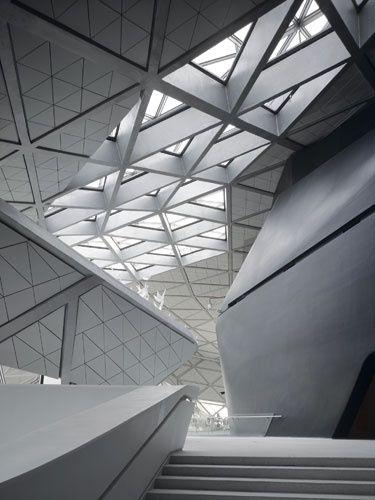 Zaha Hadid Interesting Use Of Shape Architecture