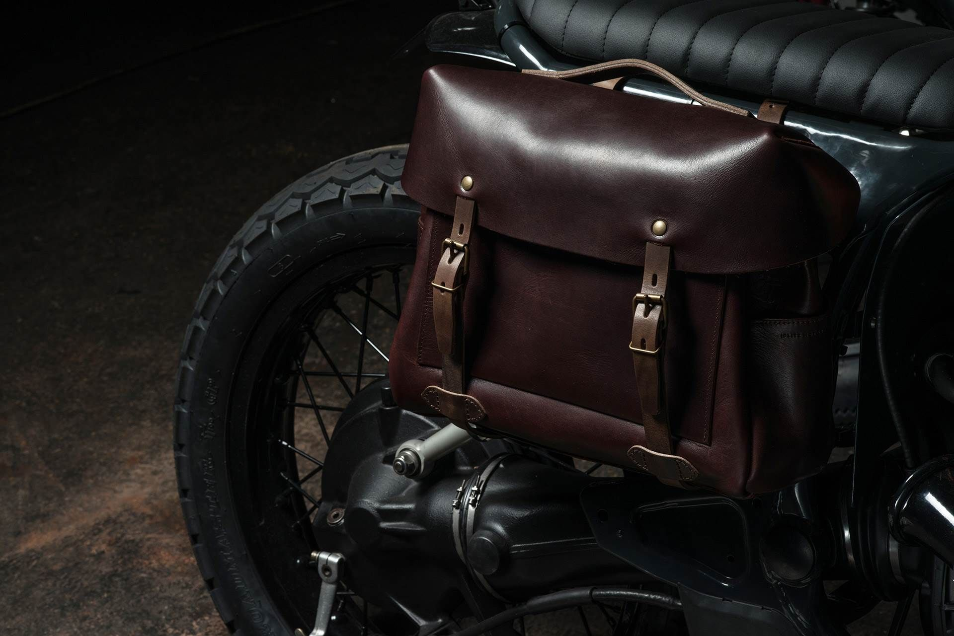Bleu De Chauffe Has Teamed Up With Paris Custom Motorcycle