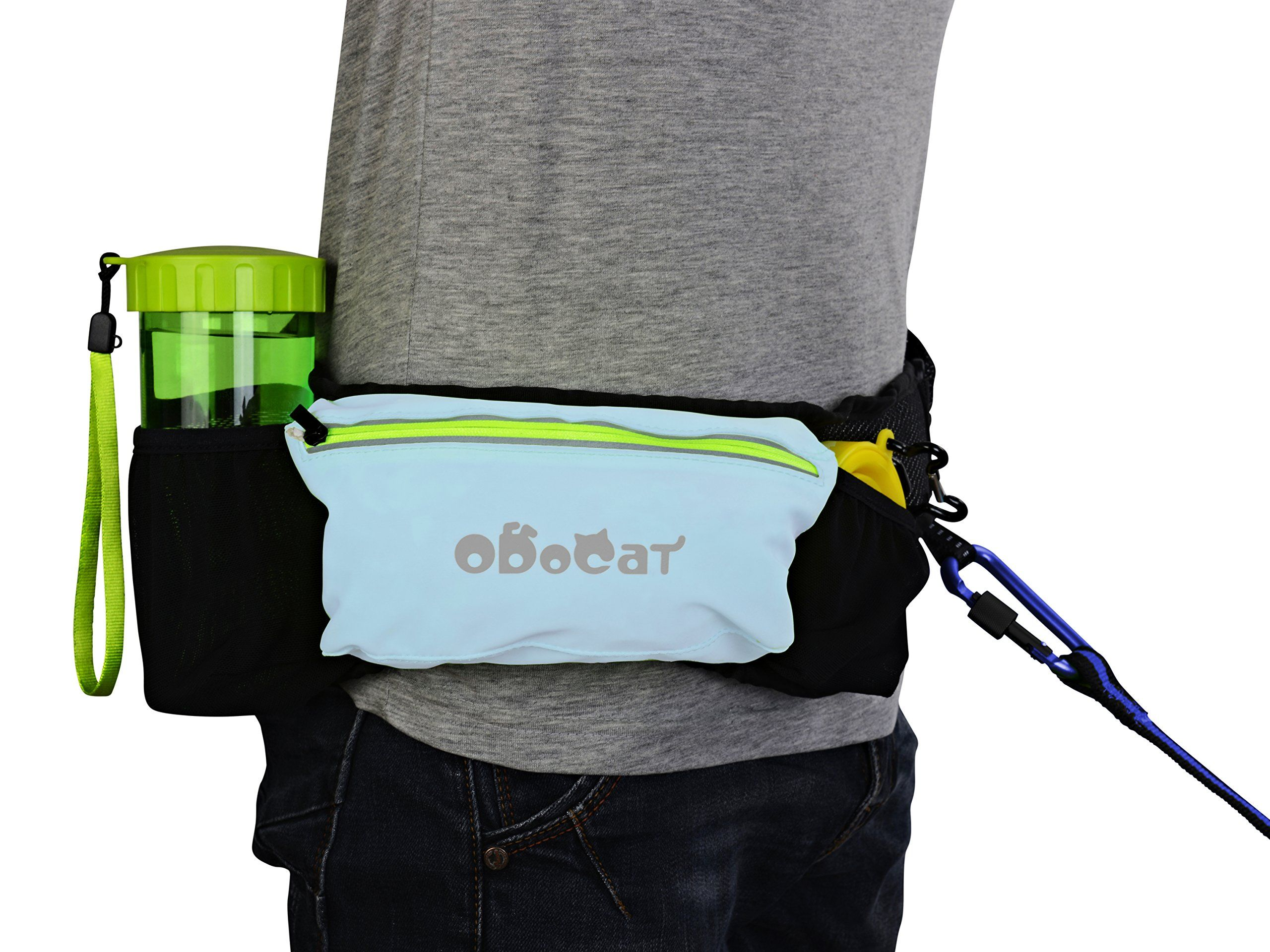 Hands Free Dog Leash By Odocat For Walking Jogging Running With