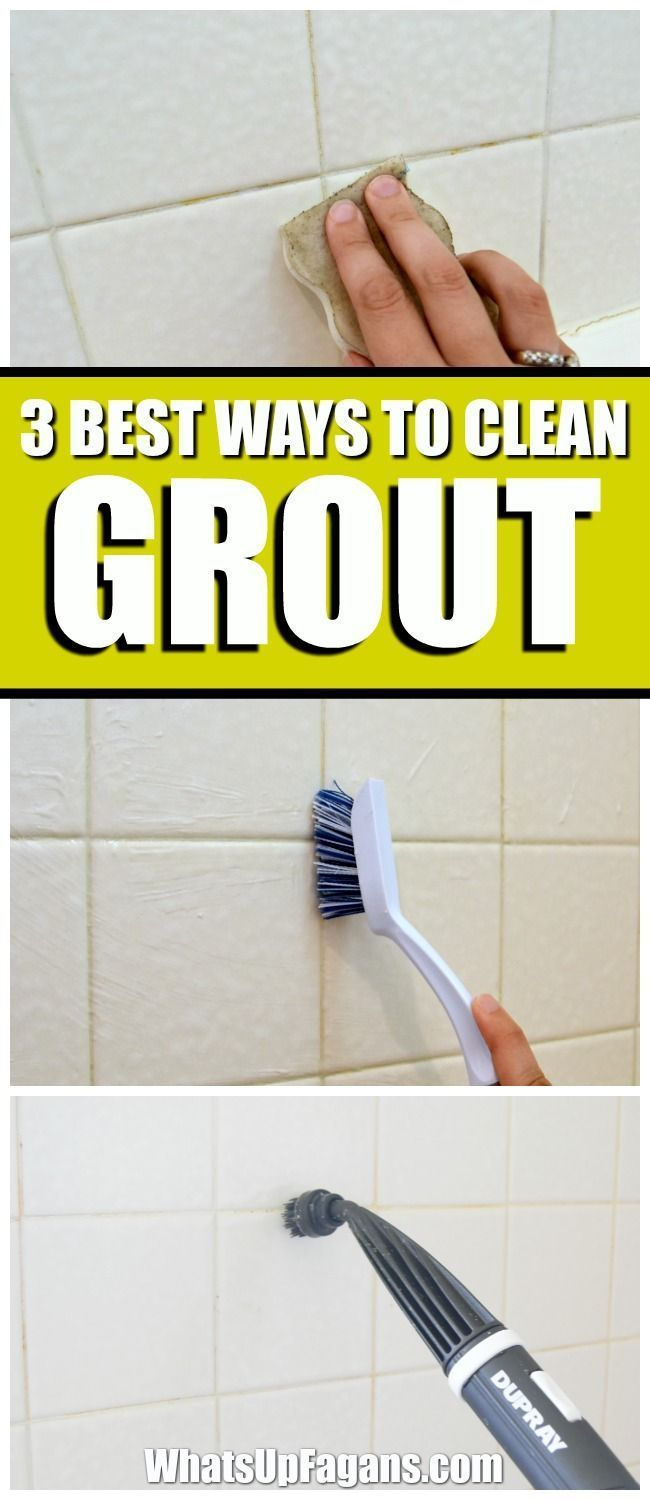 3 Of The Best Ways To Clean Grout In Your Bathroom Clean Grout