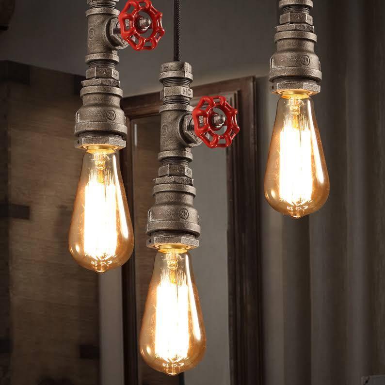Industrial Look Lighting Vintage Pendant Lighting Vintage
