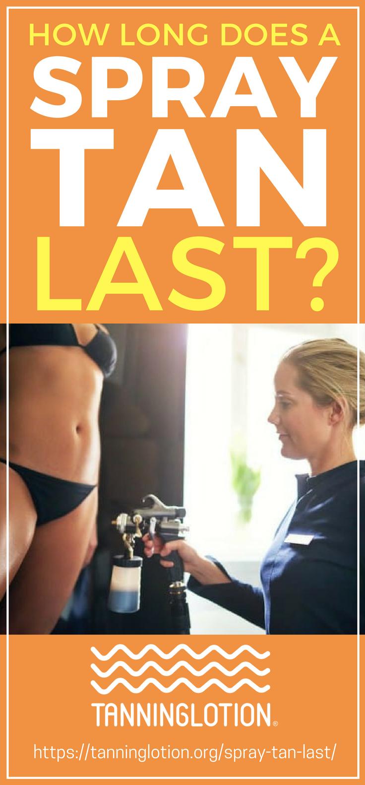 How long does a tan last