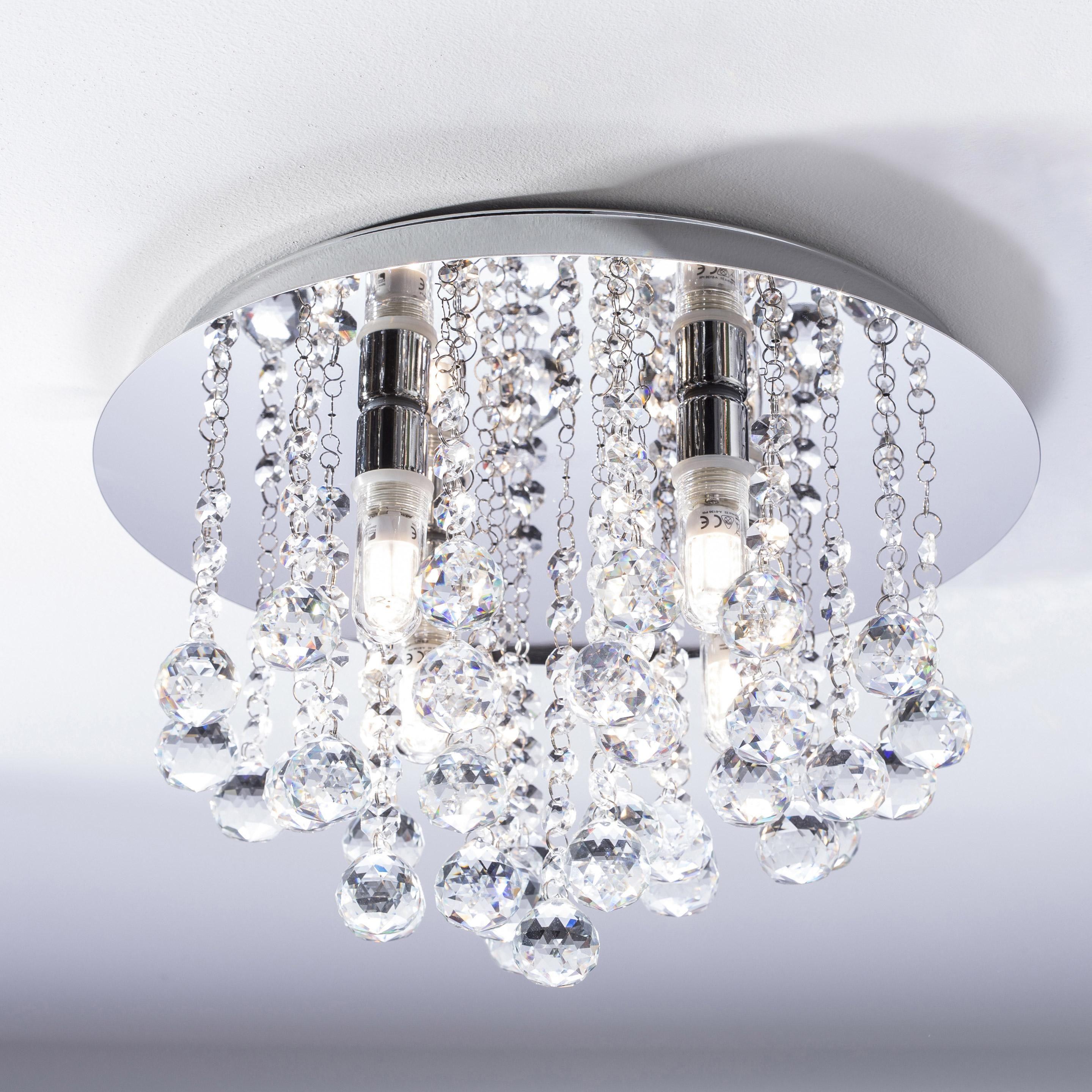 Plafonnier Almonte Led 4 X 2 5 W G9 Blanc Chaud Eglo En 2020 Plafonnier Eclairage Salle De Bain Et Luminaire Interieur