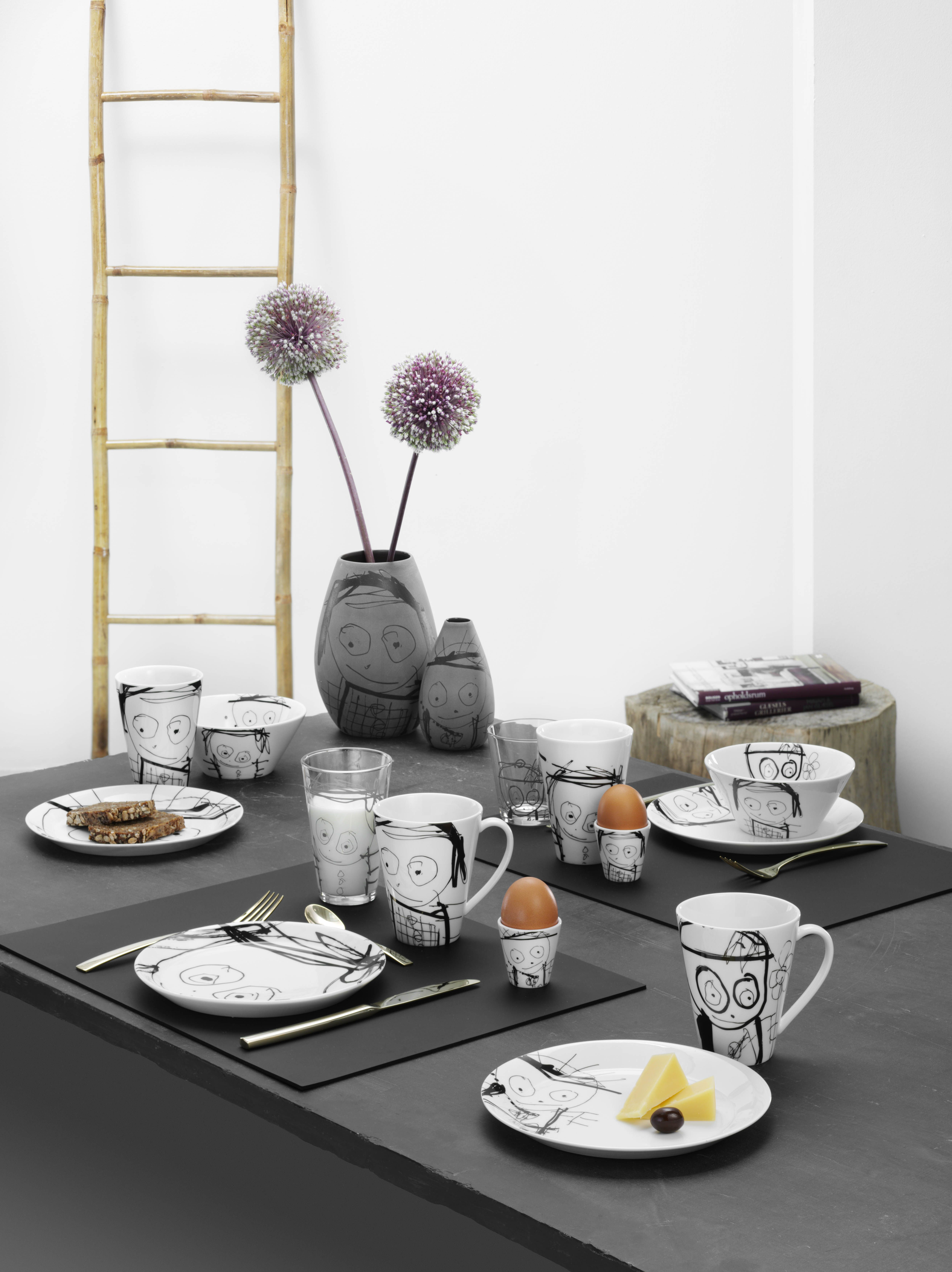 Table setting with Great Guys - Poul Pava by aida A/S. #simple & Table setting with Great Guys - Poul Pava by aida A/S. #simple ...
