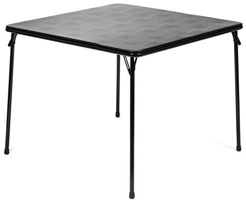 Price Tracking For Xl Series 38 Square Folding Card And Game Table Extra Large Wheelchair Accessible Black 719xl Black Price History Chart And Drop Alert Folding Table Padded Folding Chairs Table