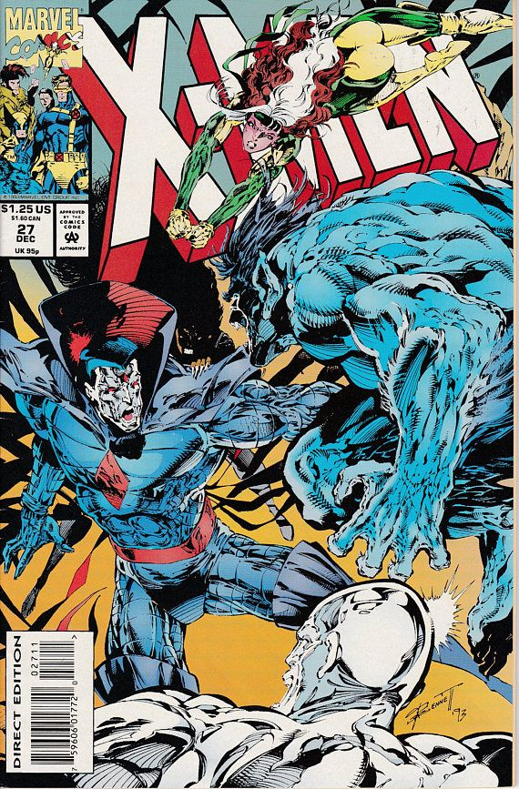 X Men 27 December 1993 Issue Marvel Comics Grade Nm Marvel Comic Books Marvel Comics Covers Comics
