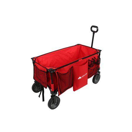 Ozark Trail Quad-Folding Wagon with Telescoping Handle