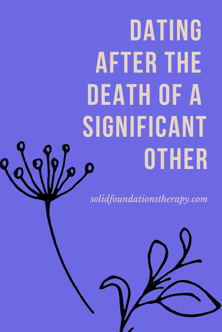 When to start dating after death of partner