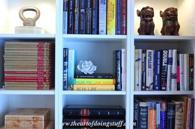 7 Jaloersmakende Boekenkasten : How to stack books different ways