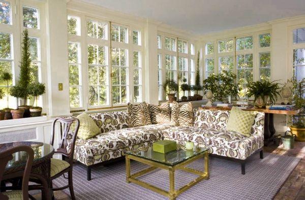 Wohnzimmer Blumen ~ Blumen muster tierprint kissen deko dekokissen ideen wohnzimmer
