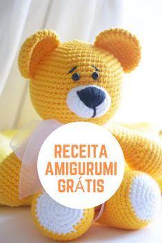 Apostilas Amigurumi animais de crochê grátis #amigurumireceita #comofazeramigu...