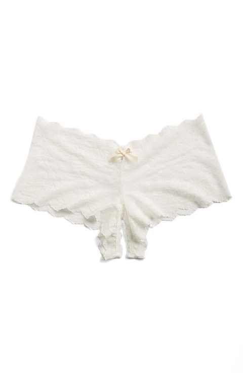647834175706 Hanky Panky Open Gusset Hipster Panty   Lux Lingerie   Women ...
