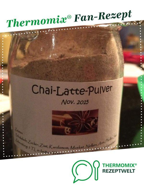 Chai Latte Pulver Rezept Thermomix Rezepte Thermomix Und Thermomixrezepte