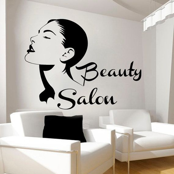 Femme Cils Home Room Decor amovible Art sourcils autocollants muraux vinyle murales