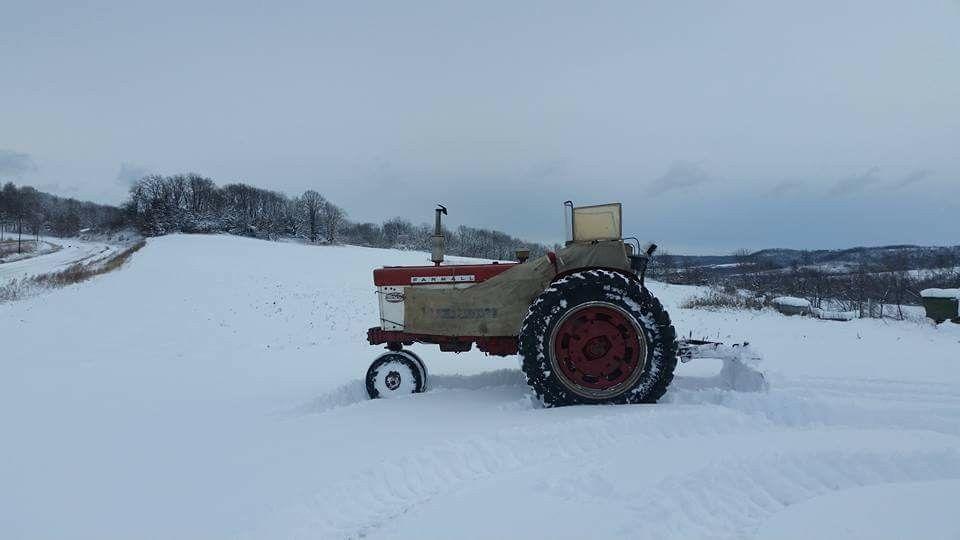 Farmall with Heat Houser | Farmall tractors, Tractors