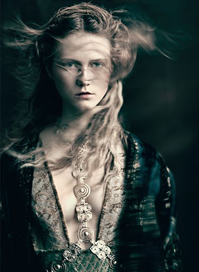 Julie Hoomans by Paolo Roversi -  Valentino for Vogue Italia, Couture Supplement, March 2016.