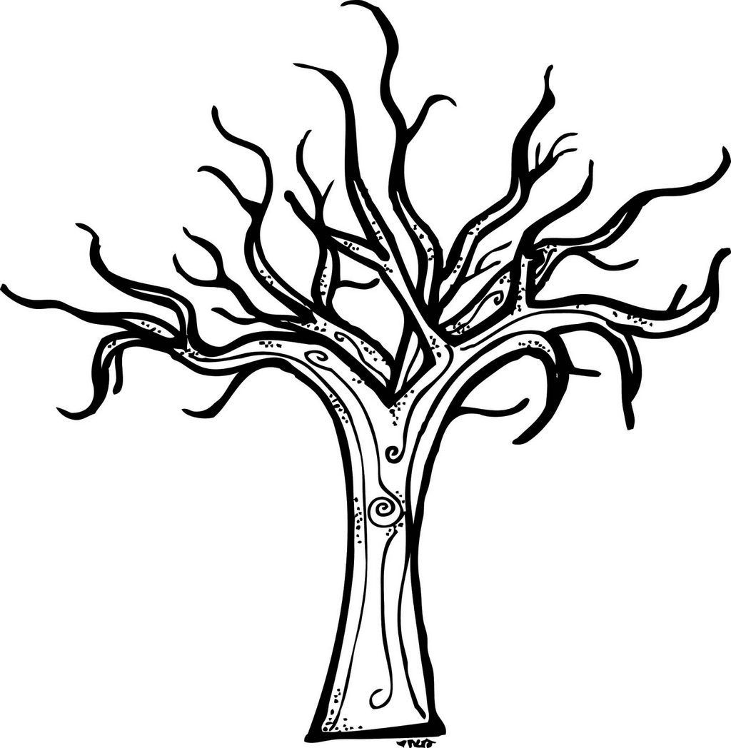 bare tree coloring page printable brand product coloring pages