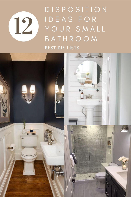 New Small Bathroom Decoration Ideas in 2020 | Small ...