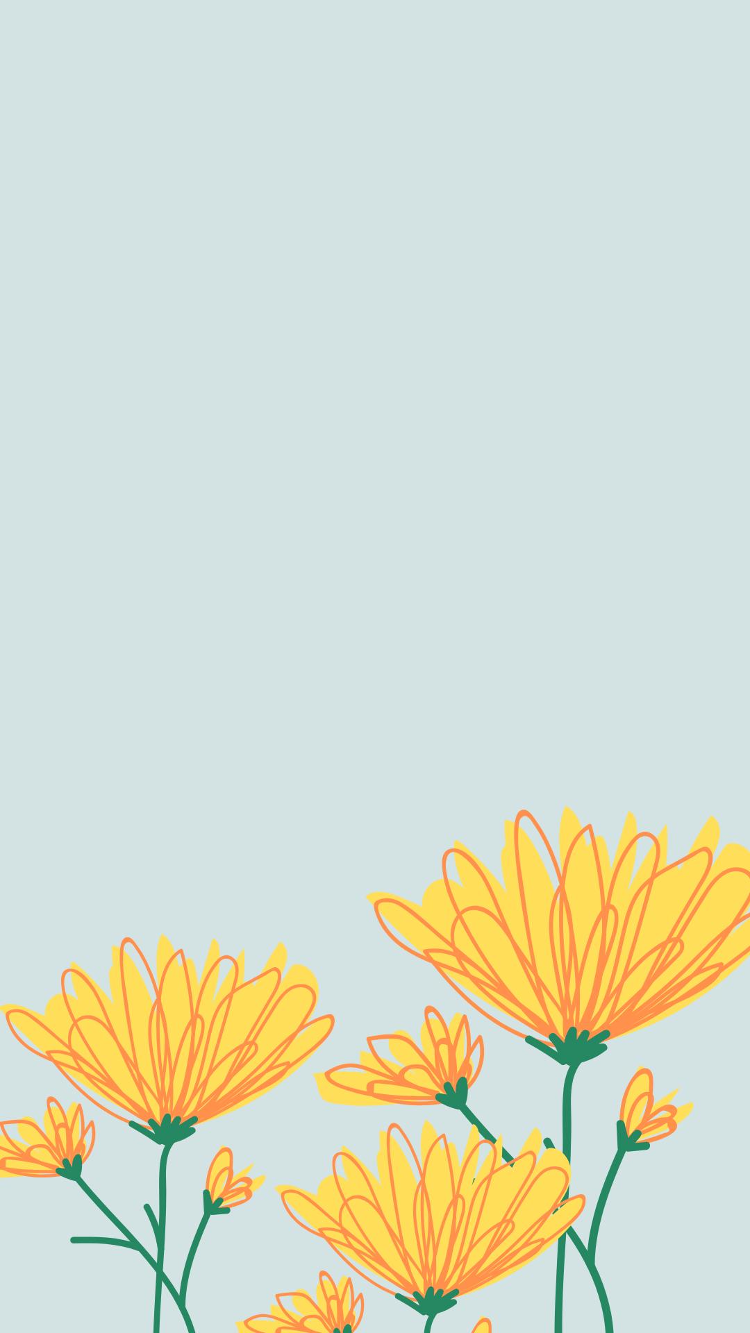Artsy Aesthetic Wallpaper : artsy, aesthetic, wallpaper, Spring, Phone, Wallpapers, Flower, Wallpaper,, Wallpaper, Patterns,