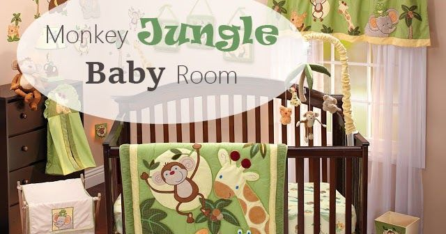 Mommy on the Money: Nursery Decorating - Monkey Jungle Baby Room and Crib Sets