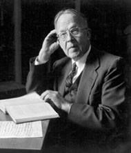 """Quaker Activist and Scholar: Henry Cadbury (1883-1974)  Pacifist. Historian. Biblical scholar. Social activist. Helped found the American Friends Service Committee in 1917. Cadbury was an """"advocate for Quakerism without mysticism, unity based on love rather than dogma, beliefs as collateral effects rather than sources of action, ethical living as religion, and the possibility of life as spontaneous response to passing situations."""" Buried in the Friends Southwestern Burial Ground, Upper…"""