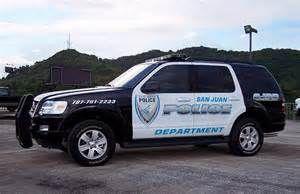 Policia San Juan Puerto Rico Police Vehicle Ford Police