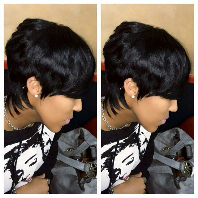 Short Quick Weave Hairstyles Fascinating 27 Piece Quick Weave  Natural Hair Beauties  Pinterest  Quick