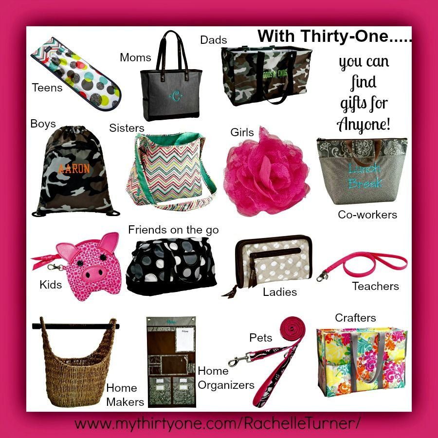 Thirty One Has Something For Everyone And You Can Personalize Most Items Go To