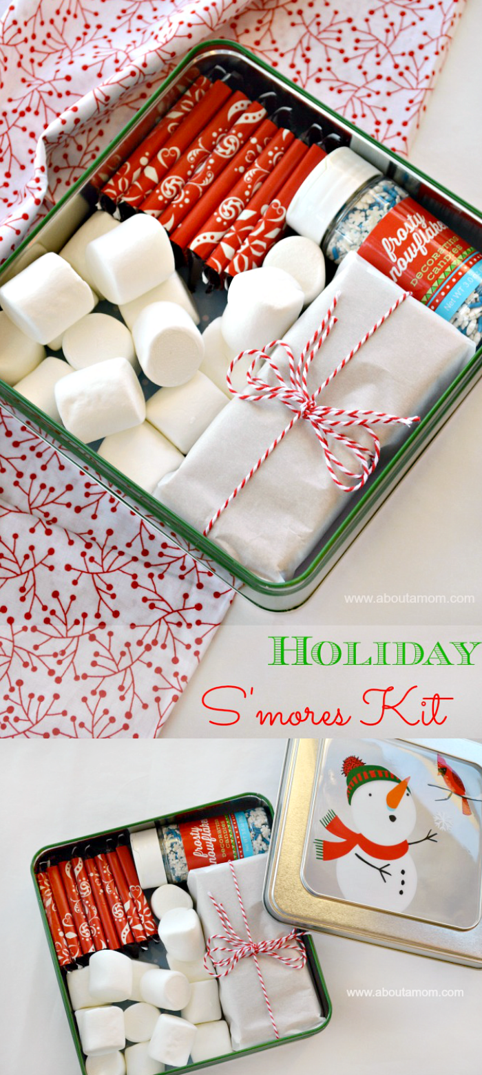 holiday s mores recipe best of about a mom pinterest
