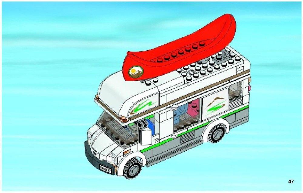 City Camper Van Lego 60057 Legos Pinterest Lego