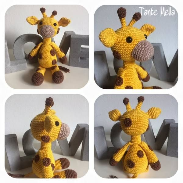Häkelanleitung Giraffi