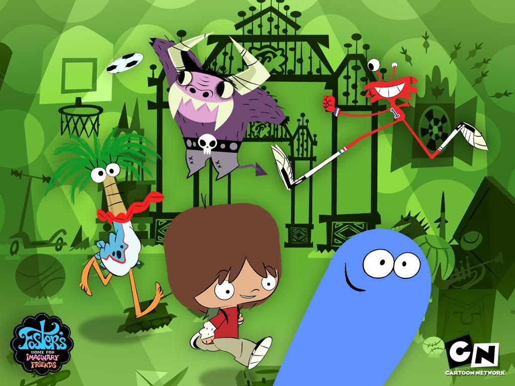 Foster S Home For Imaginary Friends Wallpaper Foster S Foster Home For Imaginary Friends Imaginary Friend Friends Wallpaper