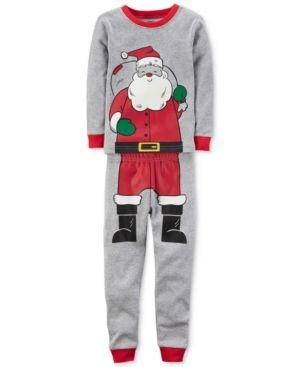 1217adde814d Carter s 2-Pc. Santa Cotton Pajama Set