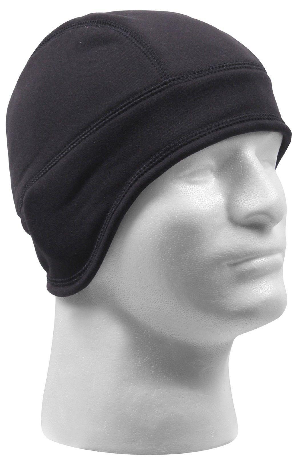 9a7ddb9e1f5 Rothco Arctic Fleece Tactical Cap - Helmet Liner - Black or Brown Winter  Ski Hat