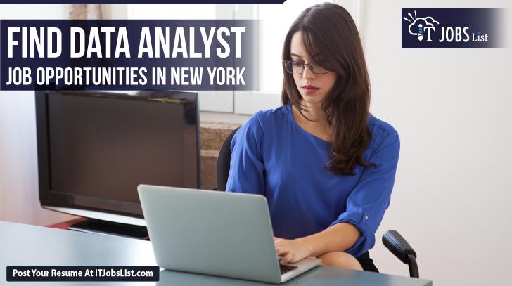 Data Analyst Jobs In Newyork Data Analyst List Of Jobs Job