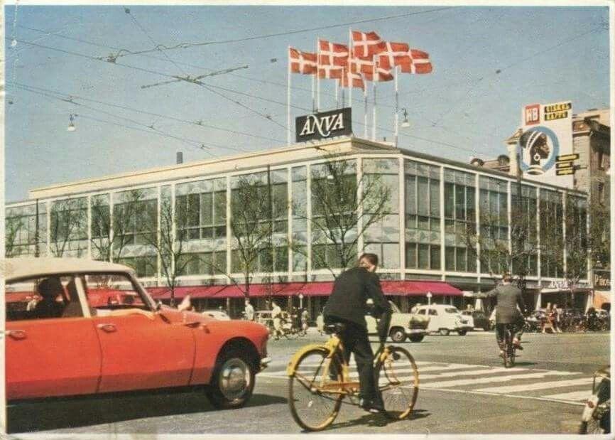 Anva på Vesterbrogade i 1960erne