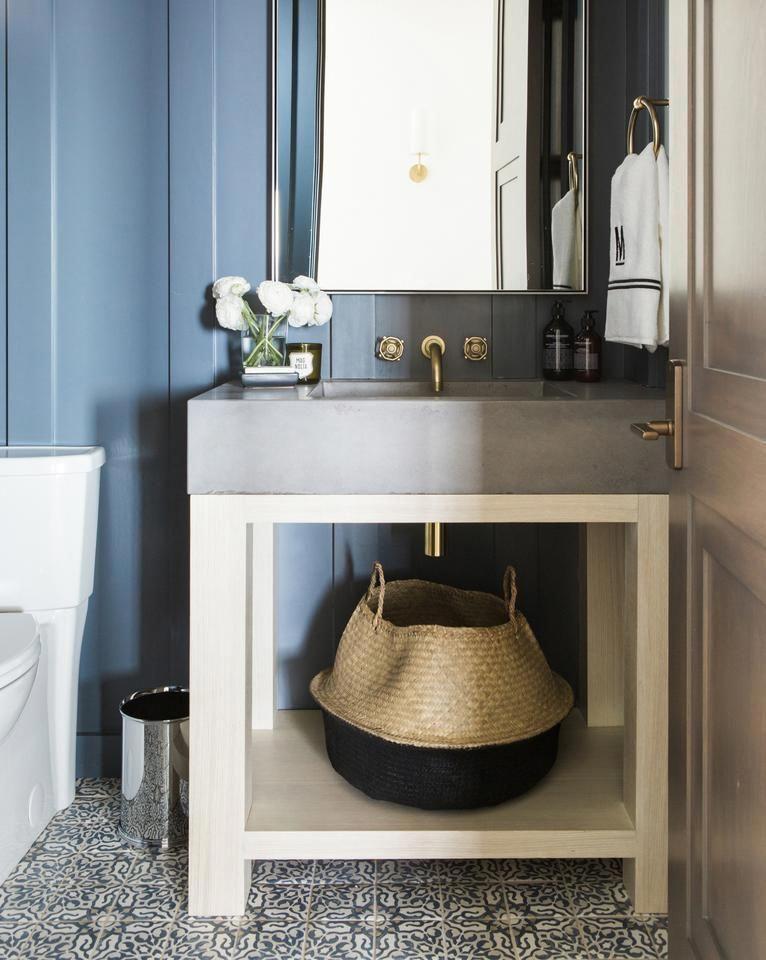 Navy Blue Bathroom Tile Paint, Navy Blue Bathroom Tile Paint