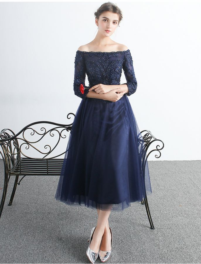 super cheap compares to top-rated authentic another chance 1950s Style Off Shoulder Stunning In Lace School Formal ...