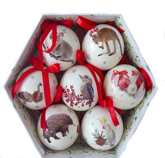Australian christmas decorations with aussie animals ist for Australian christmas decoration ideas